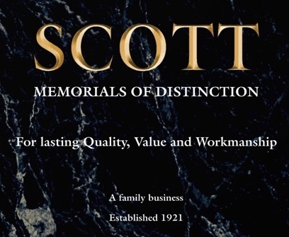 Scott Memorials Headstone Craftmanship